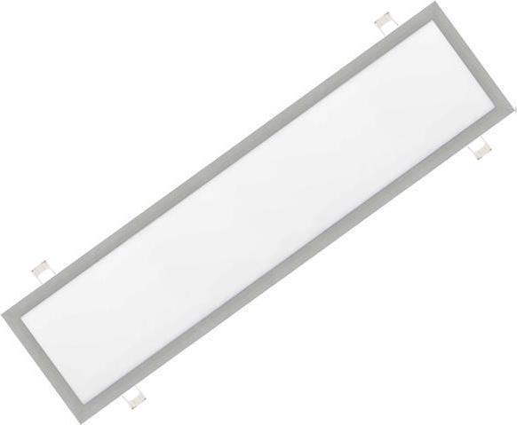 Dimmbarer Silbern eingebauter LED Panel 300 x 1200mm 48W Kaltweiß