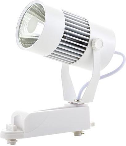 Weisser Phasen Schiene LED Strahler 20W Warmweiß