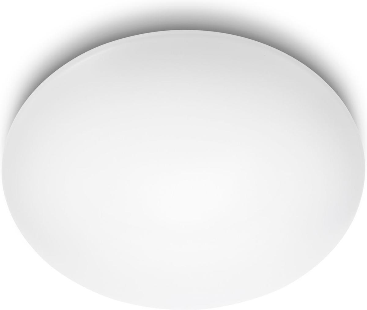 Philips LED Lampe modern decken Suede weiss 4x10W 31803/31/16