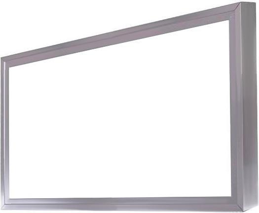 Dimmbarer Silbern LED Panel mit Rahmen RGB 300 x 600 mm 15W