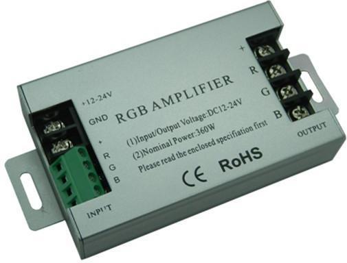 Verstärker RGB signalu 12-24V 360W