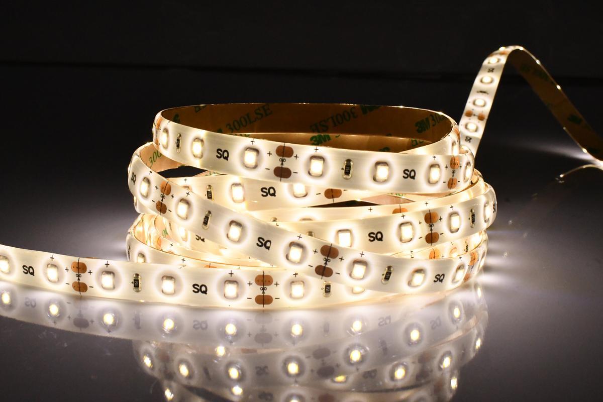 LED Streifen 4,8W/m mit Schutz Warmweiß