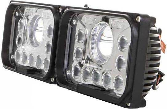 Quadratische vordere LED Leuchte mit entferntem Licht 42W 12 36V