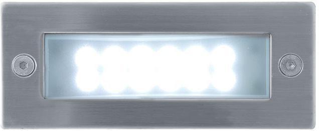 Eingebaute außen LED Lampe 1W 45 x 110mm Kaltweiß