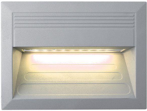 Eingebaute außen LED Lampe 1,5W 135 x 180mm Warmweiß
