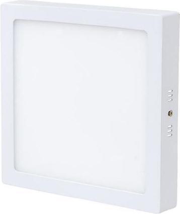 Weisser angebauter LED Panel 300 x 300mm 25W Warmweiß