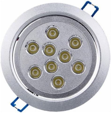 LED Spotlicht 9x 1W Kaltweiß