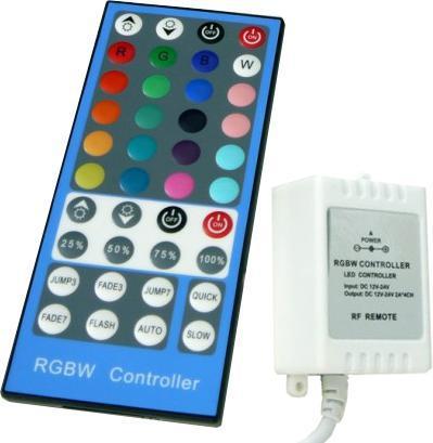 RGBW LED controller 8A 40 tasten