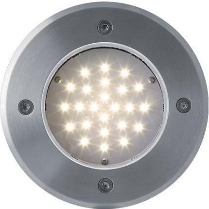 Boden einbaustrahler LED Lampe 230V 2W 24LED Warmweiß