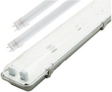 LED Leuchtstoffroehre 150cm + 2x LED Leuchtstoffröhre Kaltweiß 6330lm