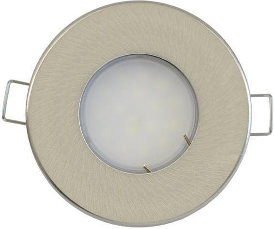 Nickel eingebaute decken LED Lampe 3,5W Tageslicht IP44 230V