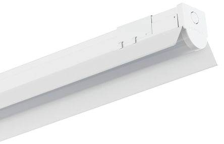Linear industriell LED lampe 120cm 60W Warmweiß