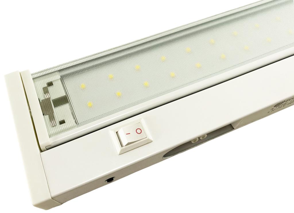 Weisses schwenkbares LED Lampe Küchenbeleuchtung 58cm 10W