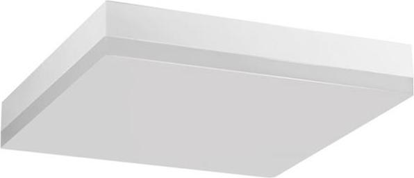Weisses LED deckenleuchte smart s quadrat 12W Warmweiß