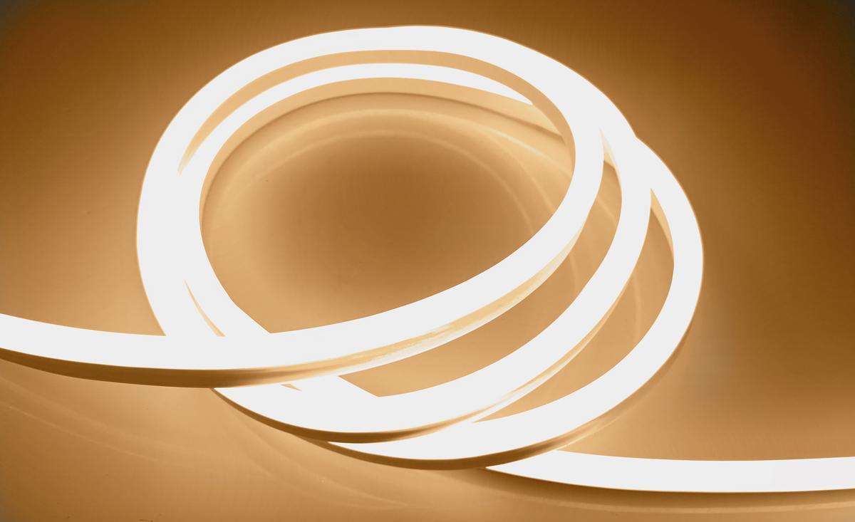 LED NEON Streifen 9W/m Warmweiß