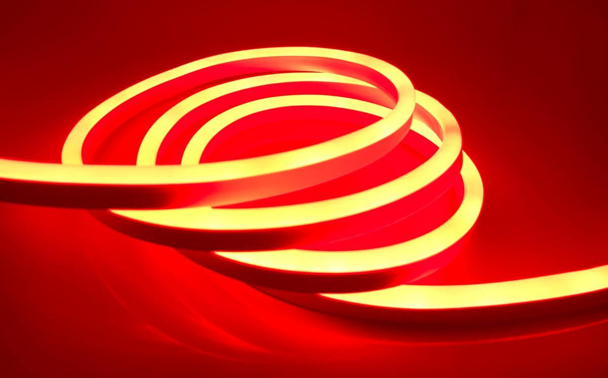 LED NEON Streifen 9W/m rot