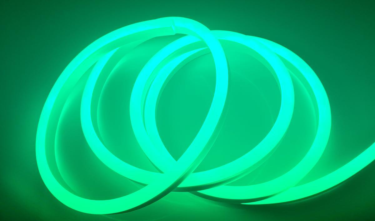 LED NEON Streifen 9W/m gruene