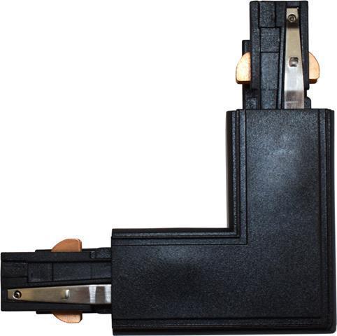 L Verbindungsstück für schwarzu 3-Phase Profil