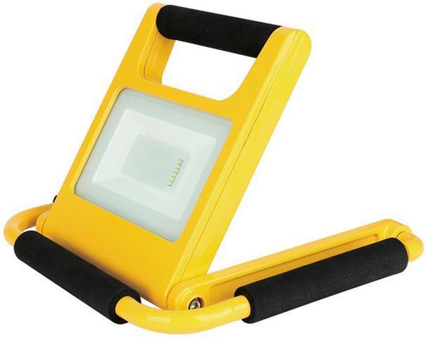 LED Strahler 20W SLIM AKU mit Staender