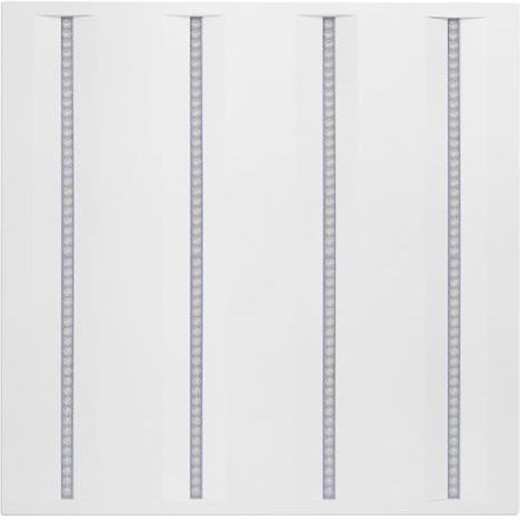 Weisser LED Panel 600 x 600mm 36W virgo profi n4a Tageslicht