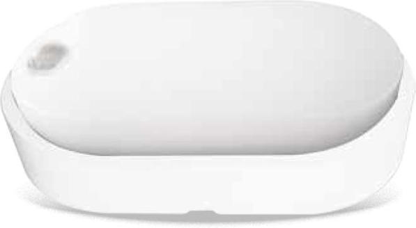 Weisses LED Wandleuchte 14W mit Sensor DITA Tageslicht