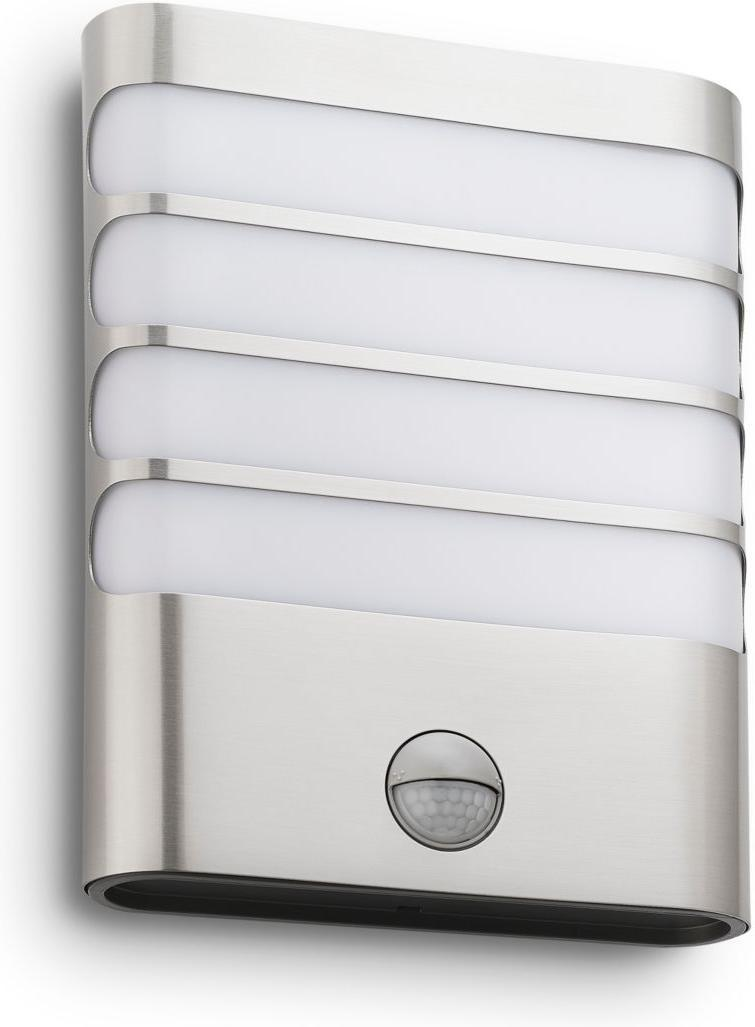 Philips LED Raccoon Lampe außen Wand edelstahl 3W selv 17274/47/16