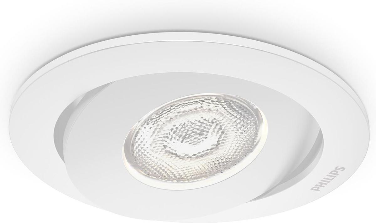 Philips LED Asterope Lampe eingebaute weisse 4,5W selv 59180/31/16
