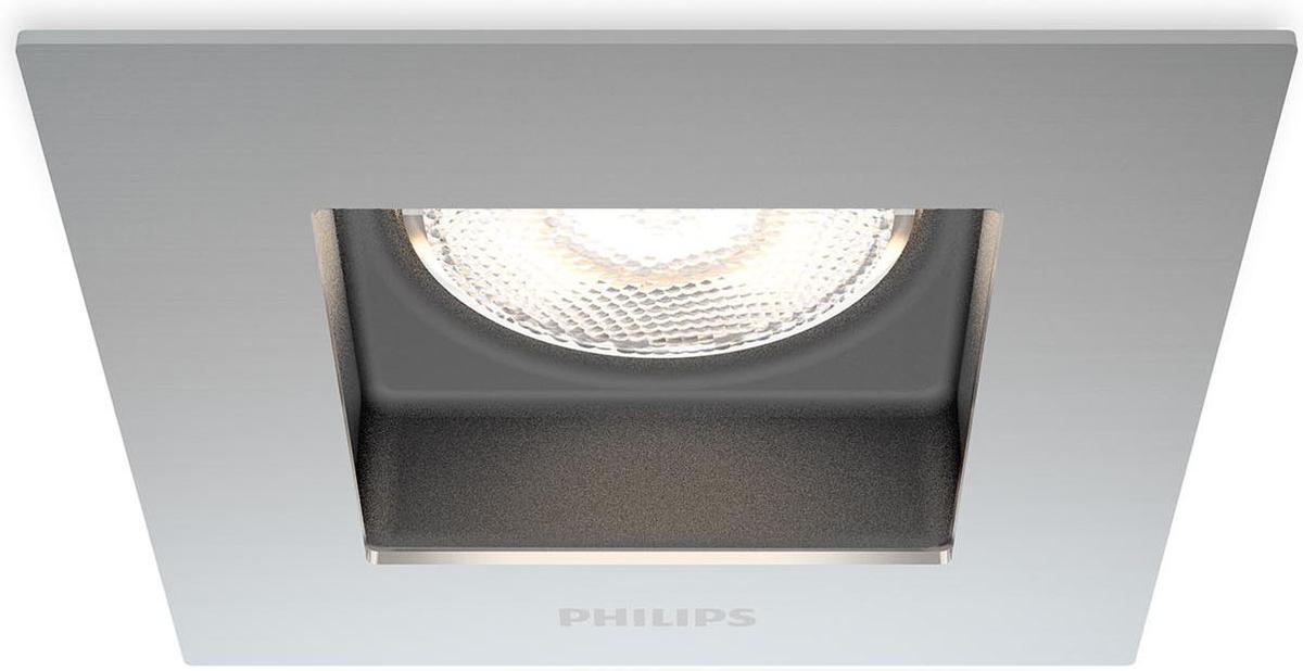 Philips LED Porrima Lampe eingebaute chrom 4,5W selv 59190/17/16