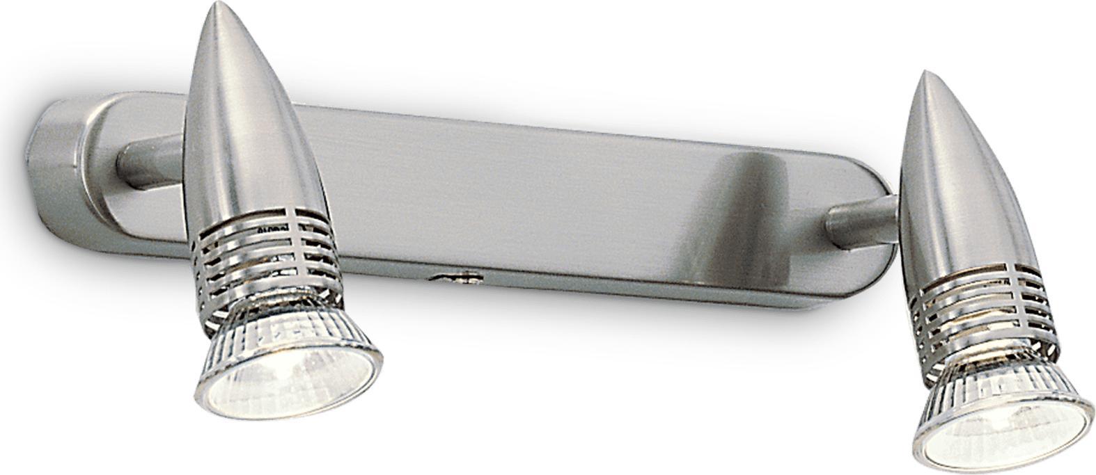 Ideal lux LED Alfa Nickel Spotlicht 2x5W 9483