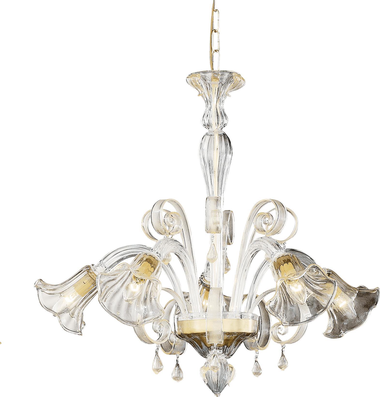 Ideal lux LED Ca doro Kronleuchter 5x5W 20969