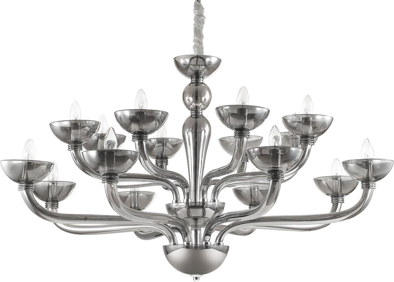 Ideal lux LED Casanova 6 fume Kronleuchter 6x5W 95639