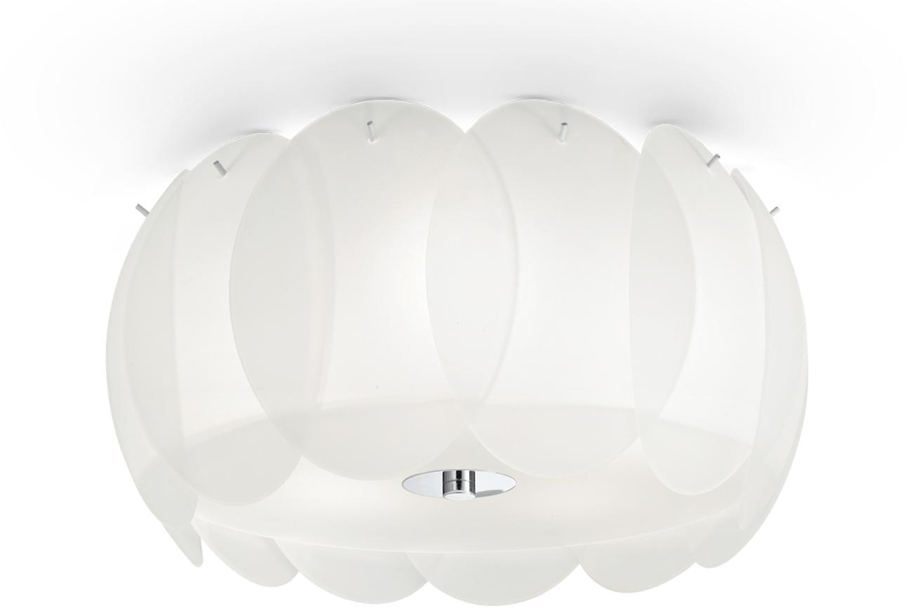 Ideal lux LED Ovalino bianco decken Lampe 5x5W 93963