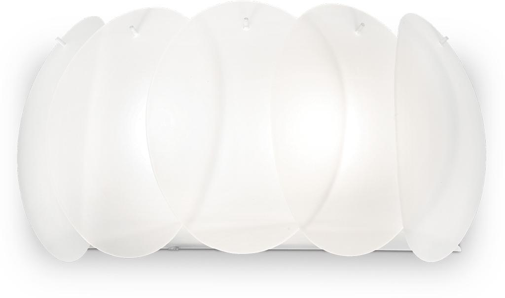 Ideal lux LED Ovalino bianco Lampe 2x5W 38025