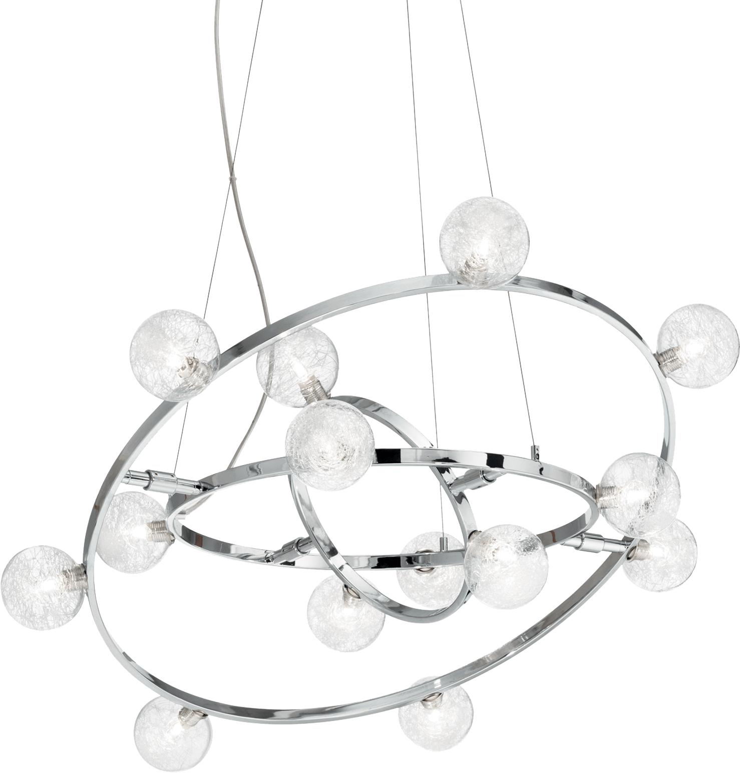 Ideal lux LED Orbital 4 Kronleuchter 4x4,5W 73835
