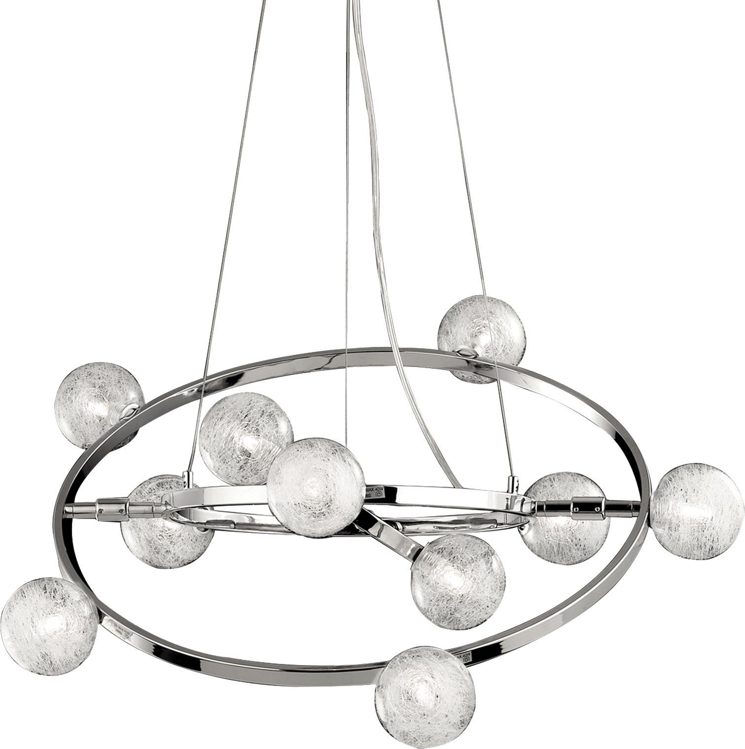 Ideal lux LED Orbital Kronleuchter 4x4,5W 73828