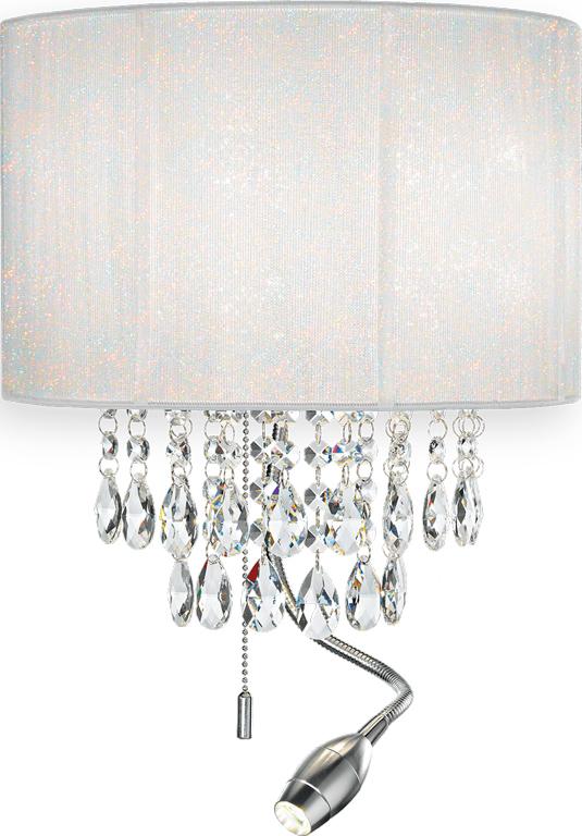 Ideal lux LED Opera Wand Lampe 2x5W 68268