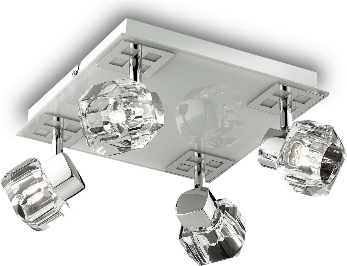 Ideal lux LED Nostalgia haengende Lampe 4x4,5W 77963