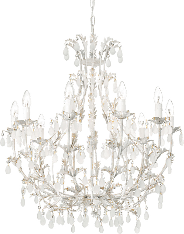 Ideal lux LED Cascina Kronleuchter 10x5W 100302