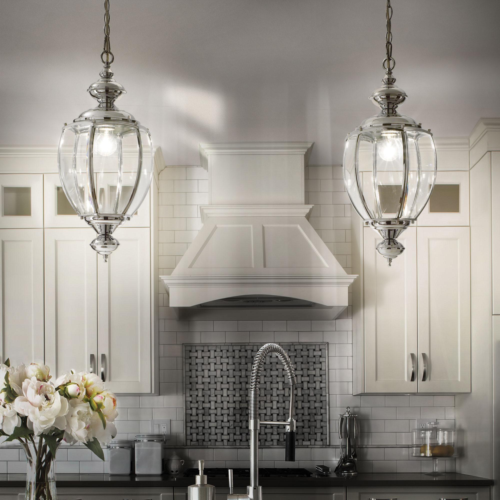 Ideal lux LED Norma big Cromo haengende Lampe 5W 94786