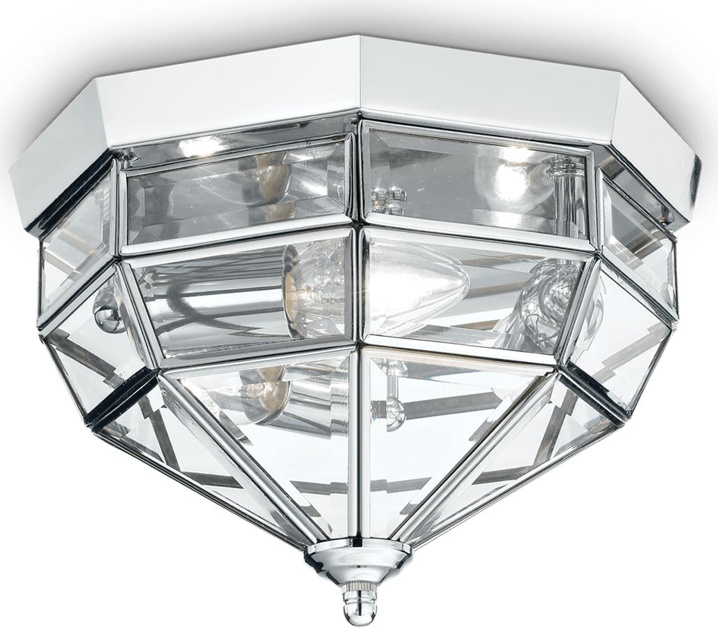 Ideal lux LED Norma Cromo decken Lampe 3x5W 94793