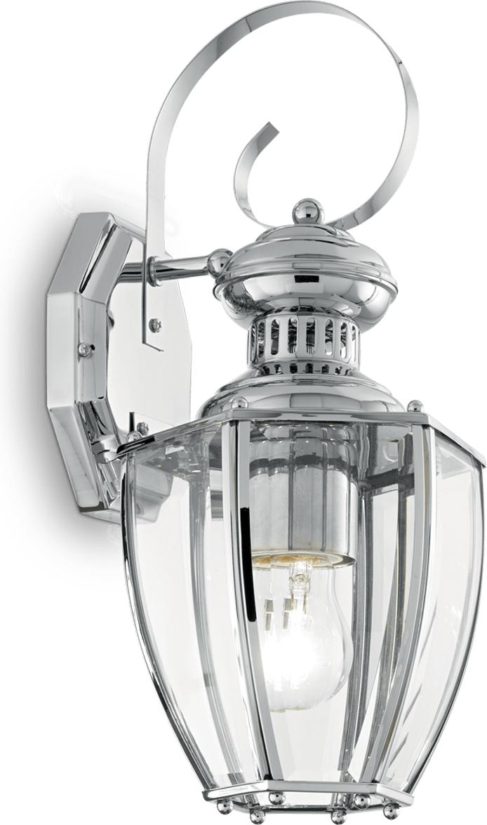 Ideal lux LED Norma big Cromo Wand Lampe 5W 100425
