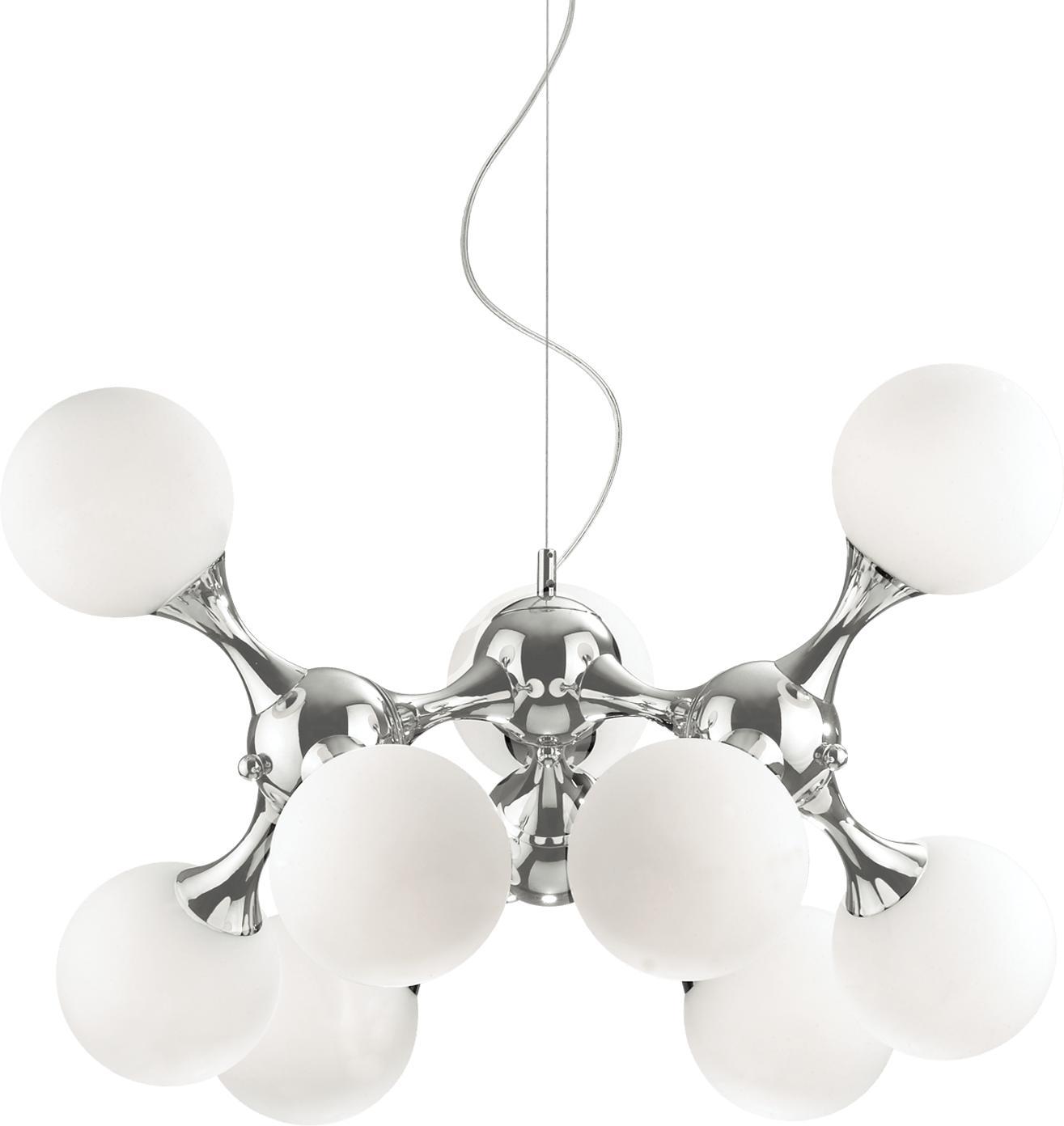 Ideal lux LED Nodi bianco haengende Lampe 9x5W 82059