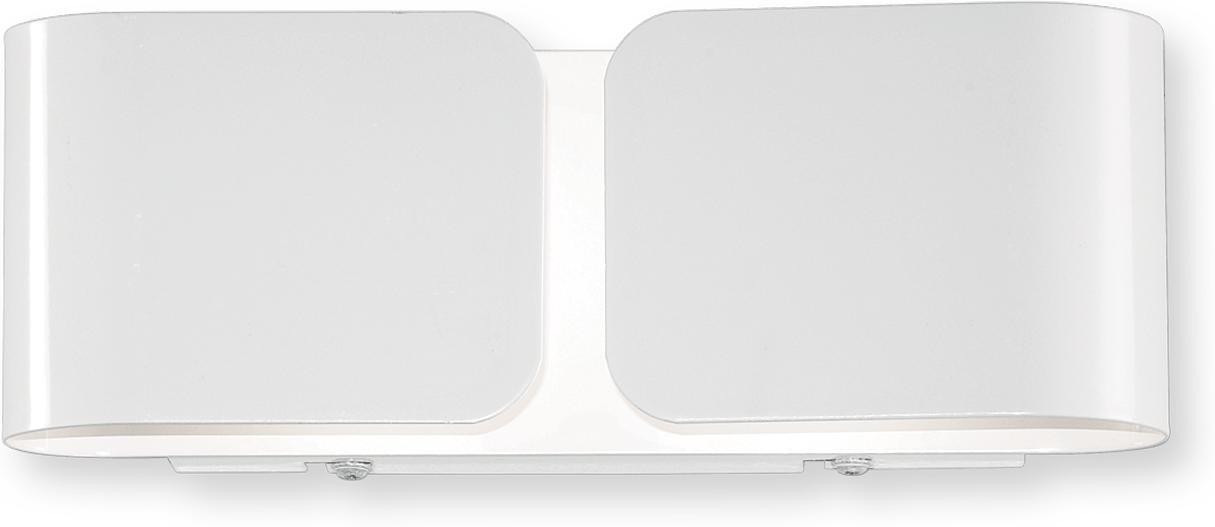 Ideal lux LED Clip mini bianco Wand Lampe 2x4,5W 49236