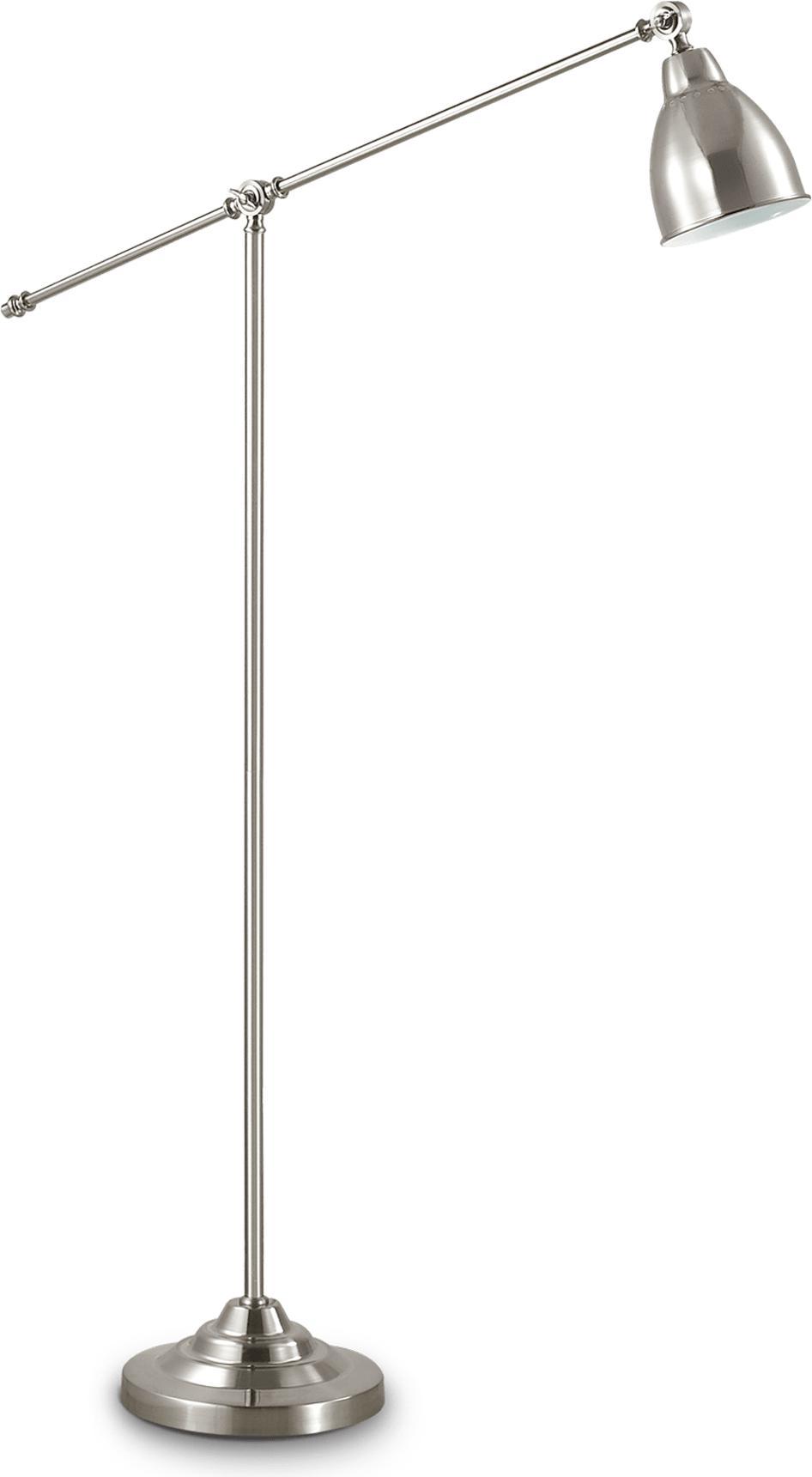 Ideal lux LED Newton Nickel Lampe stehende 5W 15286