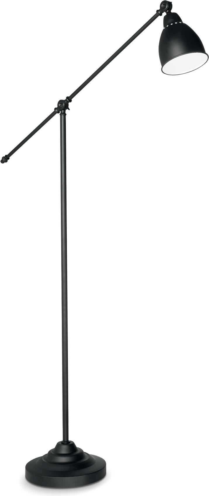 Ideal lux LED Newton nero Lampe stehende 5W 3528