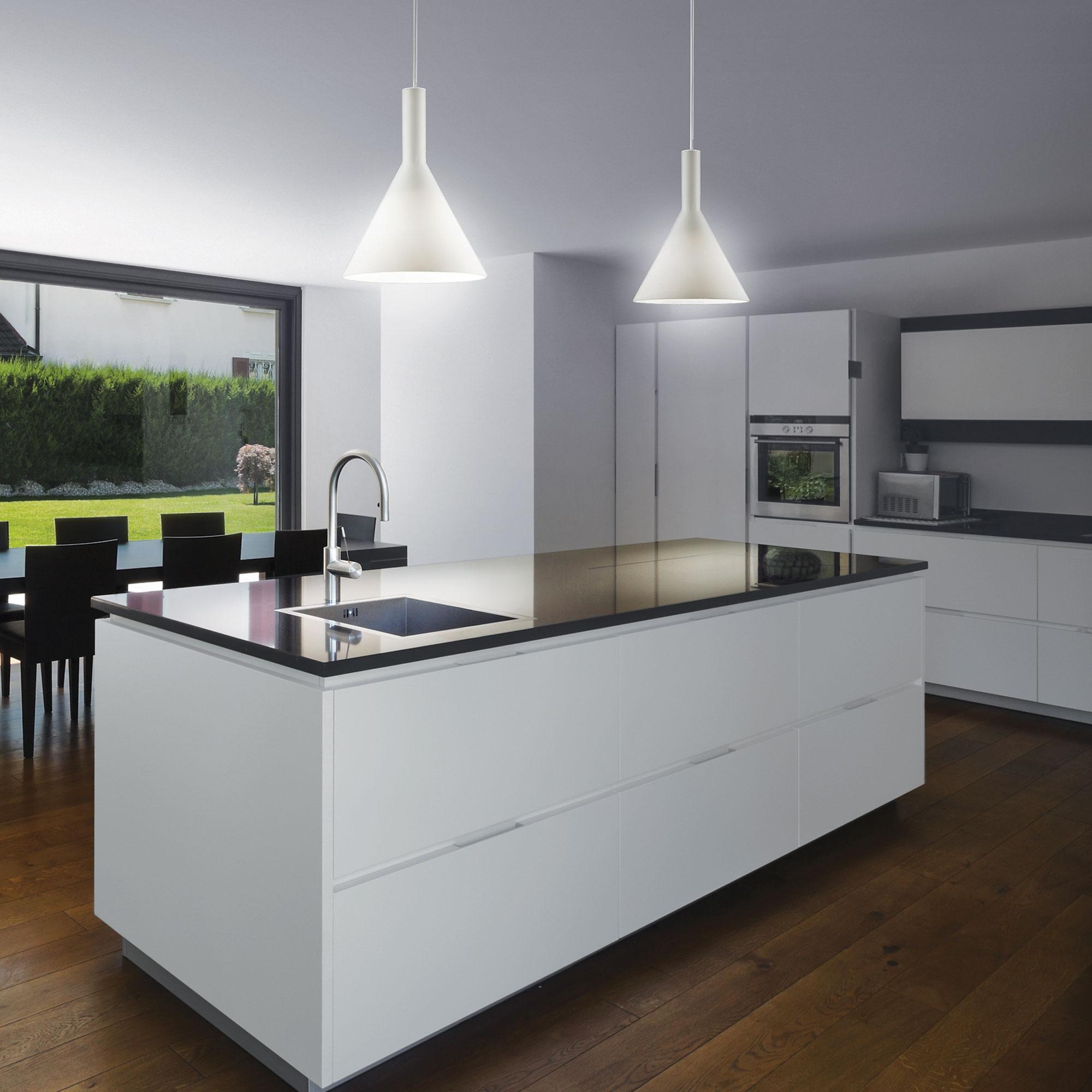 Ideal lux LED Cocktail big bianco haengende Lampe 5W 74313