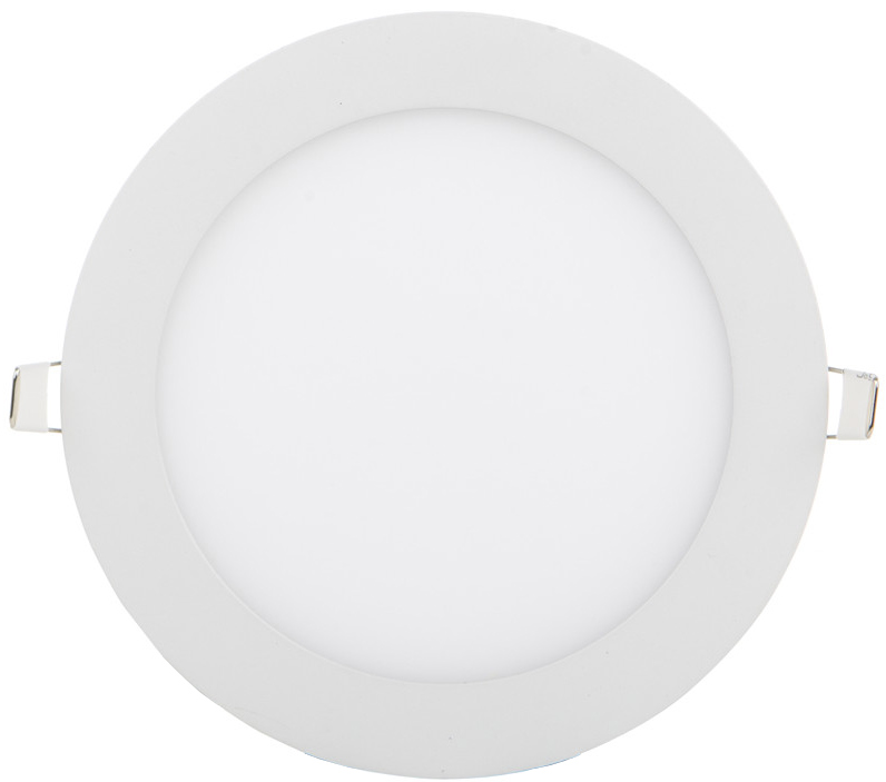 Weisser runder eingebauter LED Panel 175mm 12W Tageslicht