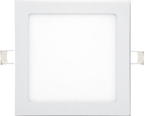 Weisser eingebauter LED Panel 225 x 225mm 18W Tageslicht