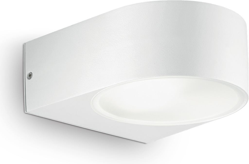 Ideal lux LED Iko bianco Wand Lampe 5W 18522