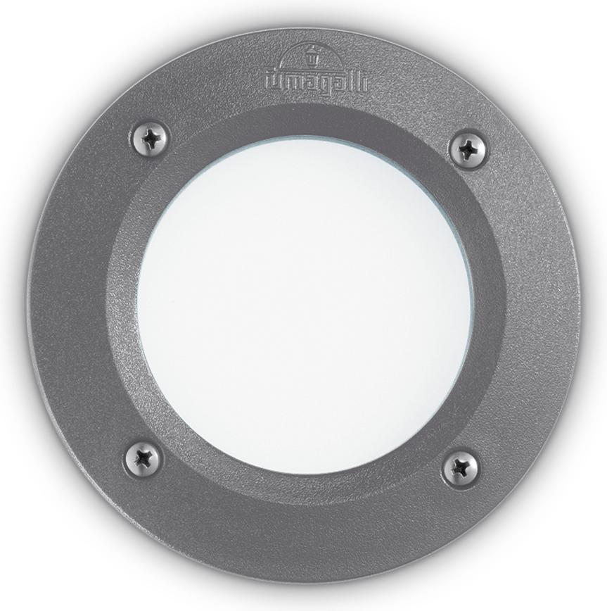 Ideal lux LED Leti round grigio max 3W gx53/96568
